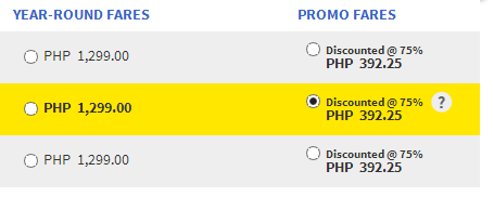 Cebu Pacific Air International destinations are covered by this promo