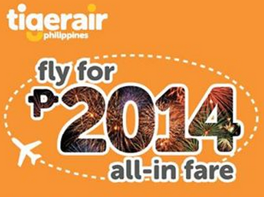 Tiger Air Promo 2014