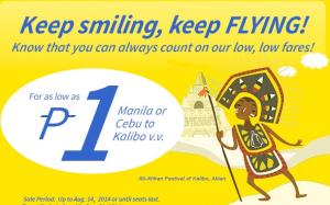 September to December Promo Fare by Cebu Pacific Air 2014
