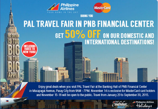 Philippine Airlines Promo 2015