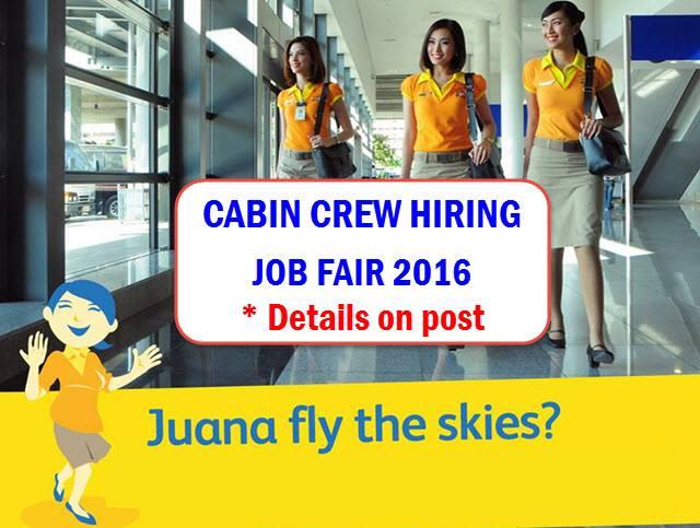 Cebu Pacific Cabin Crew Hiring