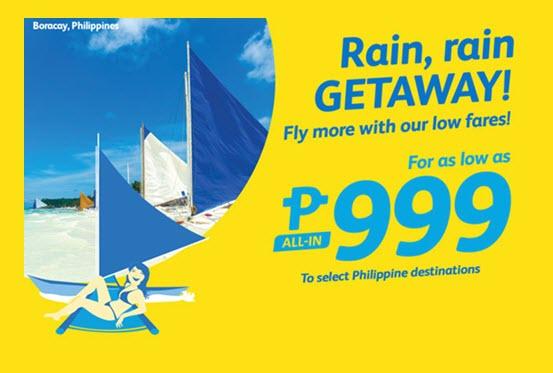 Cebu Pacific Promo August to November 2016