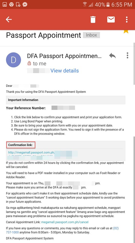 How To Set-Up Passport Appointment Date In Dfa