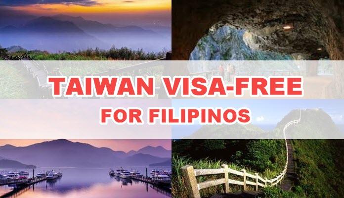 Taiwan No VISA for Filipinos 2017 to 2018