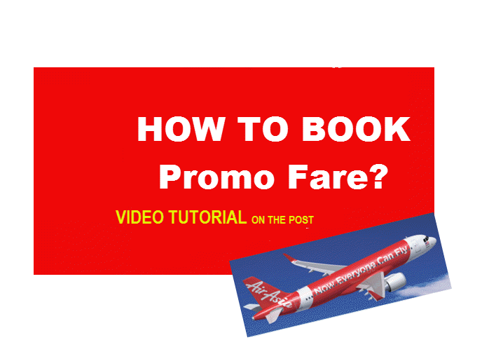 airasia promo booking tutorial