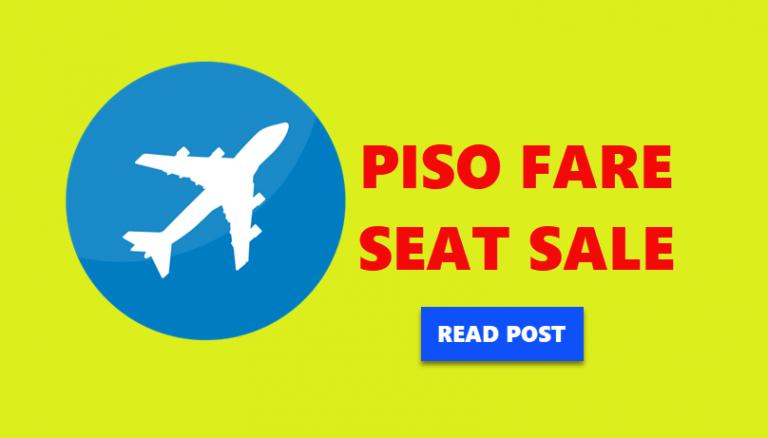 piso fare seat sale 2017 to 2018