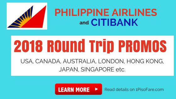 philippine airlines promo fare 2018 usa, canada, australia, japan, etc