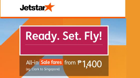JetStar Promos