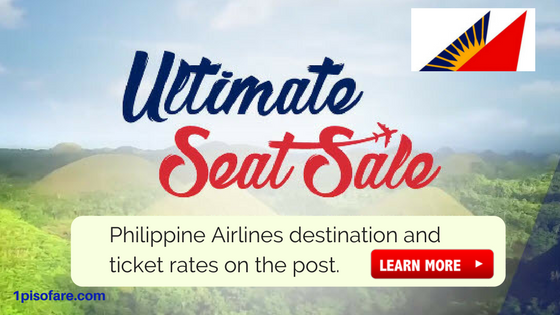 Philippine Airlines Promos Ultimate Seat Sale