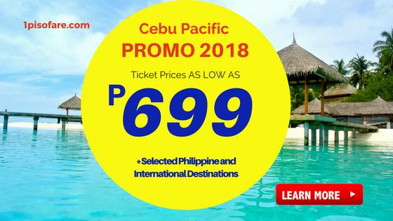 cebu pacific promos june, august, september 2018