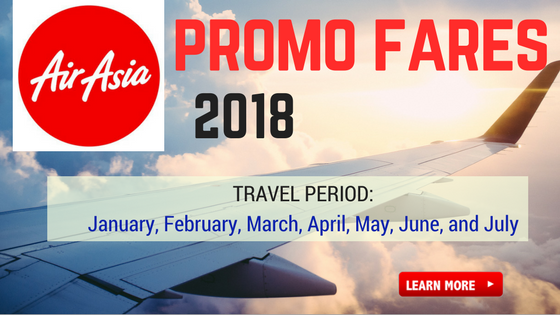 air asia promo fare 2018 tickets