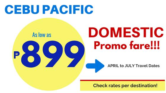 cebu pacific promo domestic 2018