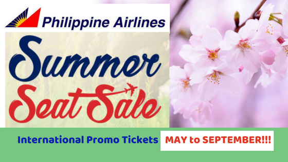 International Promo PAL MAY to SEPTEMBER!!!