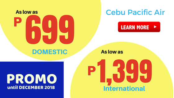 cebu pacific promo until december 2018