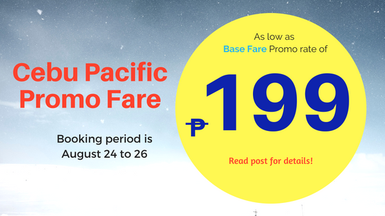 cebu pacific base fare promo 2019