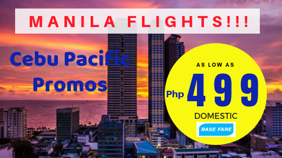 cebu pacific promo manila flights