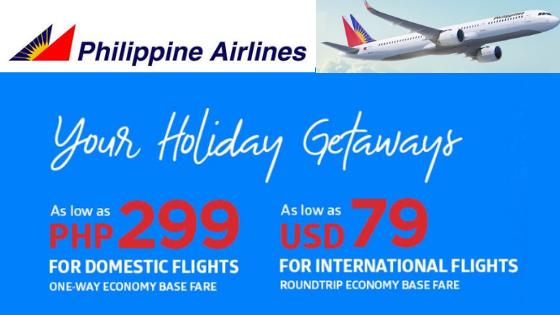 philippine airlines december promos