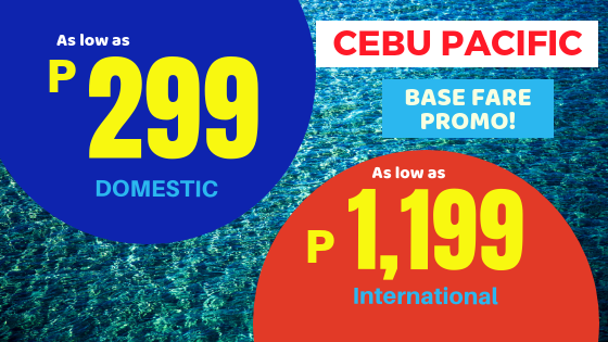 seat sale 2019 cebu pacific