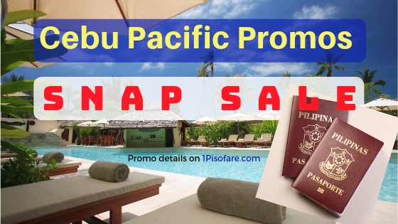 Cebu Pacific snap sale international