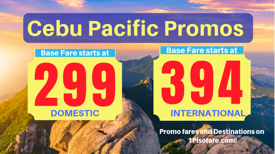 cebu pacific big sale 2019