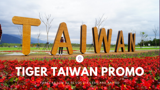 Piso Fare to Taiwan