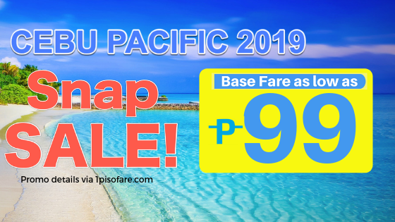 cebu pacific promo domestic available 99 snap sale