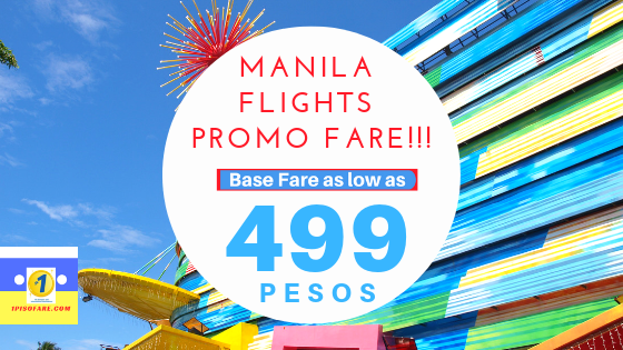 manila flights promo fare!!!