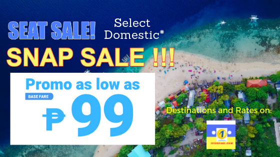 snap sale 99 march to august cebu pacific