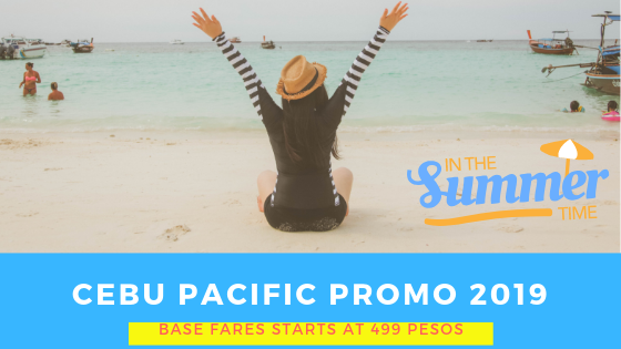 Cebu Pacific Promo April 2019