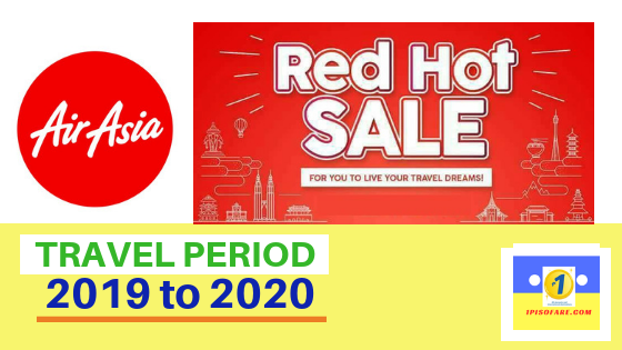 air asia red hot sale 2019 to 2020