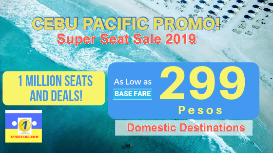 cebu pacific march 2019 promo